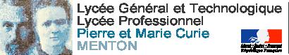 Logo lycée Pierre et Marie Curie